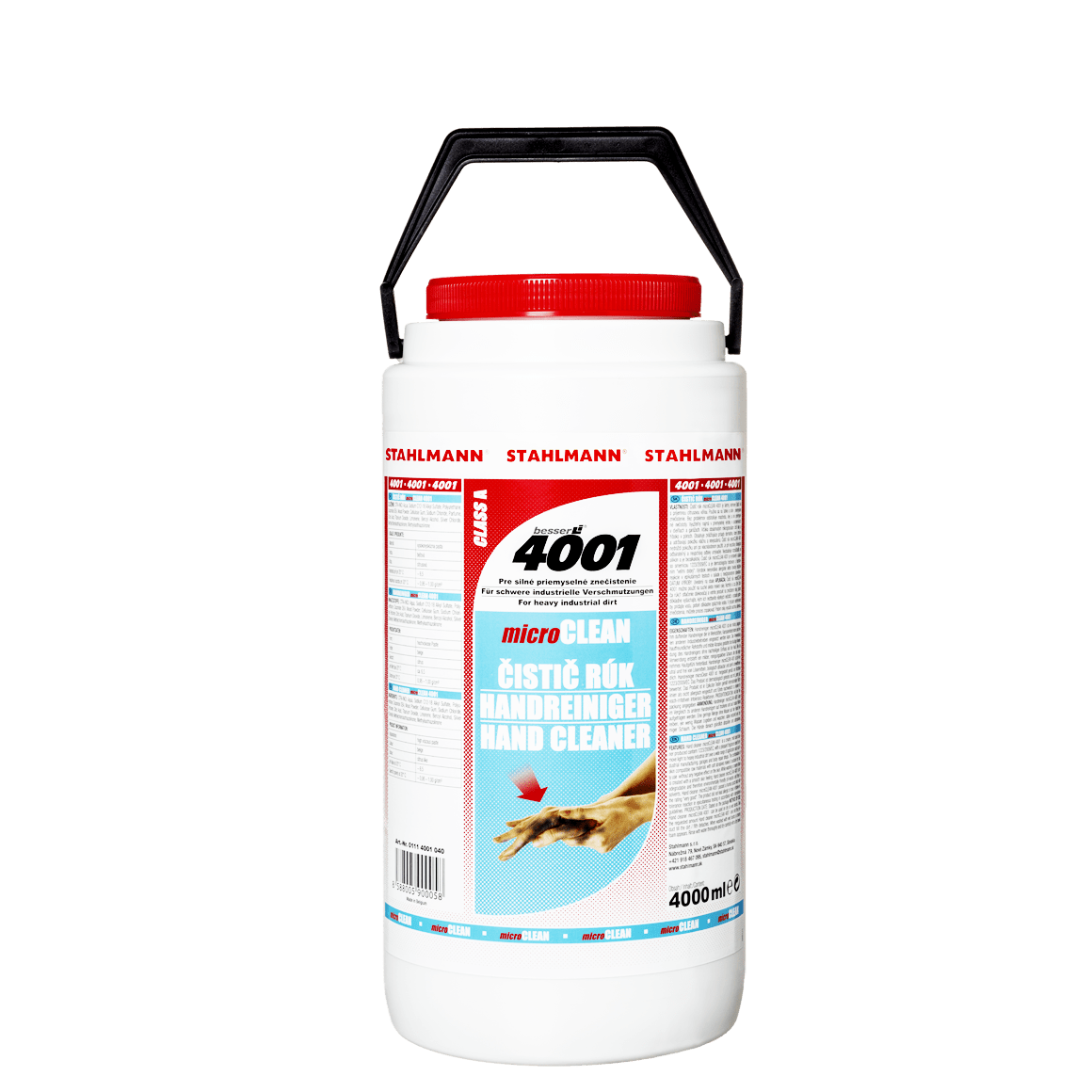 ČISTIČ RUKOU micro CLEAN 4001