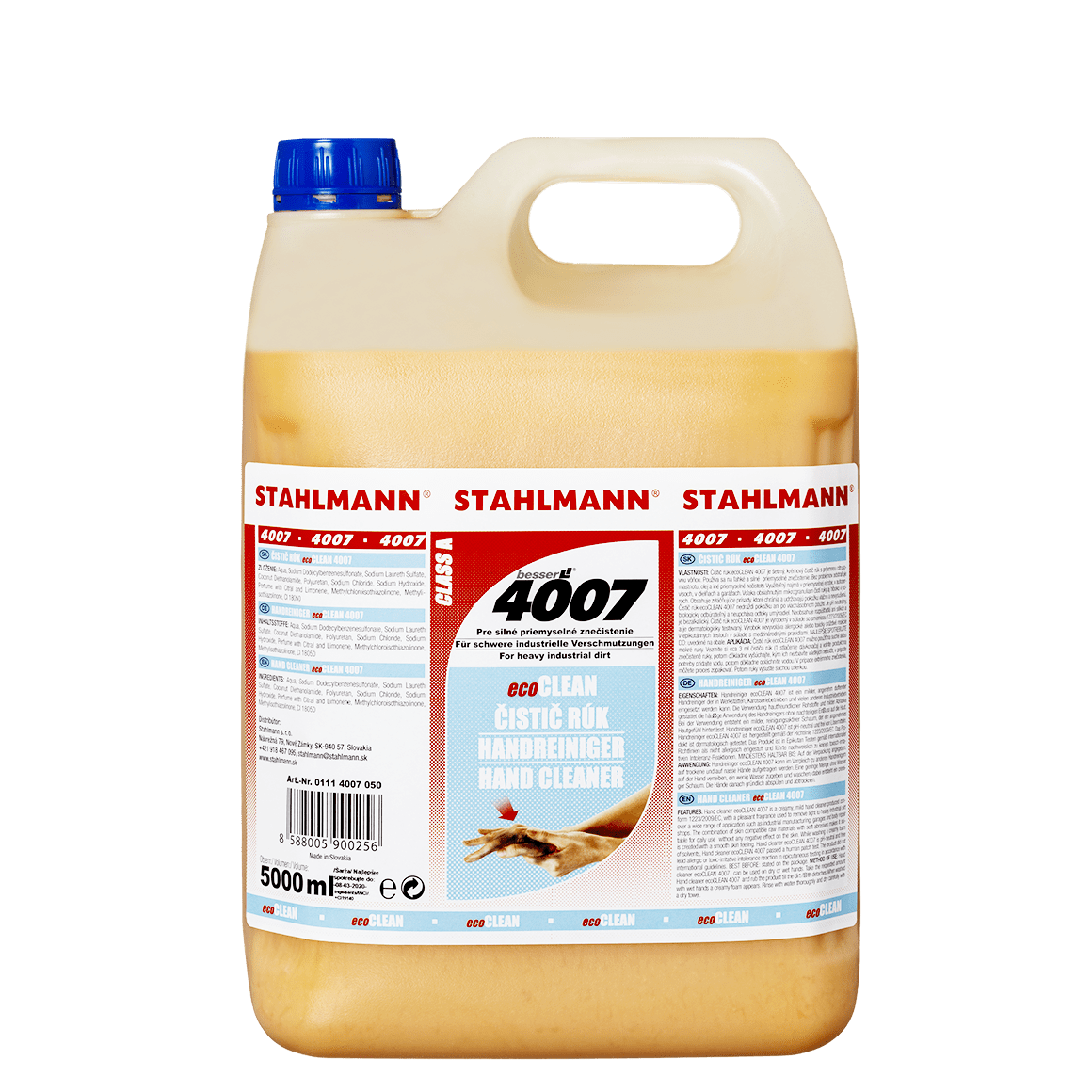 Čistič rukou eco CLEAN 4007, 5000ml