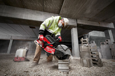 MXF COS350-601 MX FUEL ™ Concrete saw